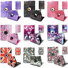 Leather 360 Degree Rotating Case Cover For New iPad 2/3/4,Air 1,Air 2 & Mini1234
