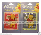 *WINNIE THE POOH For Girls WALLET Holds Coins+Money DISNEY Velcro *YOU CHOOSE*