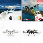 Real-Time Syma X8W Wifi FPV RC Quadcopter Headless Mode Drones 2.4G W/HD Camera