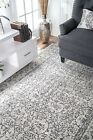 New Bosphorus Medieval Tracery Traditional Contemporary Grey Sale Area Rug