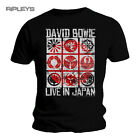 Official T Shirt David Bowie   Live In JAPAN Black All Sizes