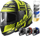 LS2 FF320.24 Stream Bang Motorcycle Helmet & FREE Visor Full Face Lid Sun Shield