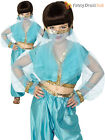 Girls Arabian Princess Costume Jasmine Fancy Dress Book Week Day Bollywood