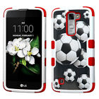 For LG K7 / Tribute 5 IMPACT TUFF HYBRID Protector Case Phone Cover Accessory
