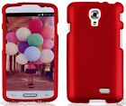 RED Snap-On Case Hard Cover for LG F70 / Access LTE