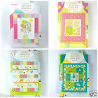 FUSIBLE APPLIQUE QUILT KITS bugs, safari, owls & jungle  83cm x 100cm