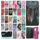 For LG K7 / Tribute 5 Premium Leather Wallet Case Pouch Flip Phone Cover