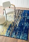 nuLOOM Bosphorus Abstract Waterfall Contemporary Blue Area Rug