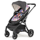 Chicco Urban PLUS 2016 Convertible Stroller Black Chassis inkl Color Kit