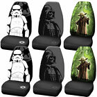 Star Wars Darth Vader Stormtrooper Yoda High Back Front Seat Covers Car Truck $39.95 USD on eBay