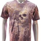 m60 Minute Mirth T-shirt M L XL Tattoo Classic Skull Street Graffiti Biker Cross