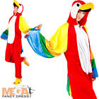 Parrot Adults Fancy Dress Animal Bird Book Week Mens Ladies Hawaiian Costume