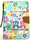 Owl Flowers Magnetic Leather Case+ Back Case Cover For Apple iPad Mini 1/2/3