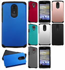For ZTE N817 HARD Astronoot Hybrid Rubber Silicone Case Phone Cover Accessory