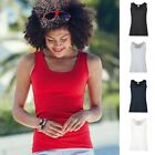 Damen Woman Top Trägershirt T-Shirt Fruit of the loom Lady Fit Valueweight Vest