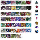 OR12 1000Pcs /10000Pcs Ordinary Flat Acrylic Rhinestone-3mm Raindrop