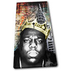 Notorious B.I.G. Grunge New York Urban SINGLE CANVAS WALL ART Picture Print