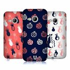 HEAD CASE DESIGNS FRUITY DOODLES HARD BACK CASE FOR HTC ONE MINI 2