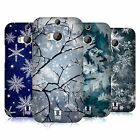 HEAD CASE DESIGNS WINTER PRINTS HARD BACK CASE FOR HTC ONE M8