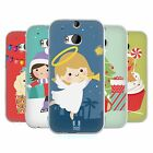 HEAD CASE DESIGNS JOLLY CHRISTMAS TOONS SOFT GEL CASE FOR HTC ONE M8