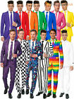 Mens Suitmeister Novelty Suit Adults Fancy Dress Stag Do Funny Freshers Costume