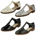 Ladies Clarks Flat Shoes Style - Taylor Palm