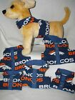 NFL Denver Broncos Dog-Cat Harness XSmall-Medium shipping disc. on 2 or more!