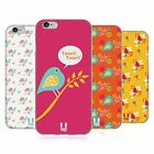 HEAD CASE DESIGNS VOGEL MUSTER SOFT GEL HÜLLE FÜR APPLE iPHONE 6 6S