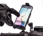 "M10 Mirror 1"" Stud Ball Scooter Mount + One Holder for Galaxy S6 / S7 Edge"