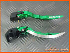 Ducati ST4 / S / ABS 1999 - 2002 Long Blade Adjustable Brake Clutch Levers