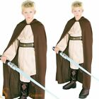 Boys Jedi ROBE ONLY Luke Skywalker Star Wars Fancy Dress Costume Accessory