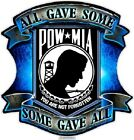 "Bumper Window 3M Reflective Sticker Decal Military POW MIA NEW choose 2"" 4"" 6"""