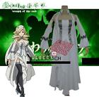 Seraph Of The End Vampire Horn Skuld Uniform Cosplay Costume Dress  K9