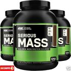 ON Optimum Nutrition Serious Mass 5.4kg 2.7KG Weight Gainer Protein All flavours
