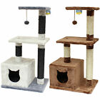 ME & MY PET CAT/KITTEN SPRING TOY PLAY TREE & SCRATCHER ACTIVITY CENTRE/STATION