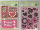 U CHOOSE K&Company CUPID SLIDERS   SMITTEN HEART FELT 3D Stickers valentine