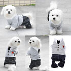 Pet Dog Cat Polo Shirt Puppy Hoodie Clothes Jumpsuit Costume Jacket Coat Apparel