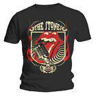 Official T Shirt THE ROLLING STONES Distressed 40 LICKS