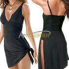 Fashion Sexy Women Siamese Padded Bikini Swimsuit Swimdress Swim Dress Swimwear