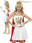 Ladies Sexy She-Ra Costume Adults Superhero Outfit Princess of Power Fancy Dress