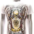 m103w Minute Mirth T-shirt S M L XL Tattoo Skull Demon Angel God Knight Gangster
