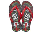 Ipanema SK8 Kids Flip Flops / Sandals - Grey Red - 81567C