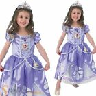Girls Deluxe Disney Sofia The First Princess Fairytale Fancy Dress Costumes