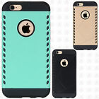 For Apple iPhone 6 / 6s HYBRID Shocker Rubber Case Phone Cover Accessory