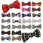 Mens Pre Tied Wedding Party Prom Fancy NOVELTY TUXEDO Necktie Tie Satin Bow Ties