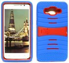 BLUE & RED U-Case Hybrid Cover Case for Samsung Galaxy Grand Prime