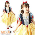 Kids Snow White Disney Princess Fancy Dress Girls Fairytale Child Costume Outfit