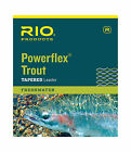 Rio Powerflex Trout Fly Fishing Leaders 7.5ft 9ft 12ft 15ft Freshwater