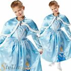 Girls Disney Princess Winter Wonderland Cinderella Fancy Dress Costume Book Week