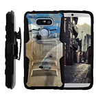 For LG G5 Case | Rugged Holster Clip Heavy Duty Case Wild Animals